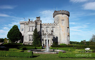 Dromoland Castle Art Print by Ros Drinkwater
