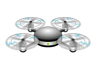 Digital Art - Drone by Moto-hal