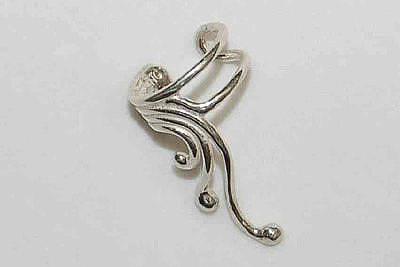 Ear Cuff Jewelry - Drop Flow Ear Cuff Jewelry by Ronald Peckham
