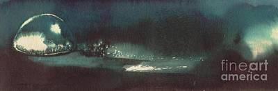 Drop Of Water Art Print by Annemeet Hasidi- van der Leij