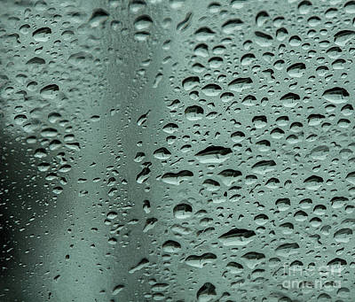 Photograph - Droplets Square by Michael Ziegler