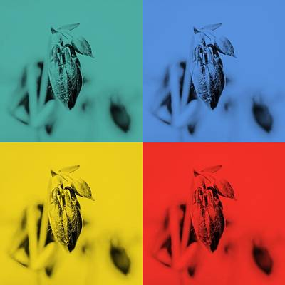 Sweden Digital Art - Drops Buds Popart by Tommytechno Sweden