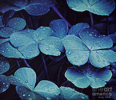 Drops Of Moonlight Art Print by Wendy Galletta