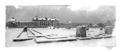Drottningholm Castle Winter IIi Art Print by Mikael Jenei