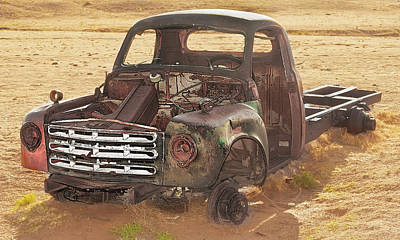 Drought And '51 Studebaker Art Print