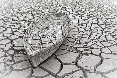 Photograph - Drought by Edward Fielding