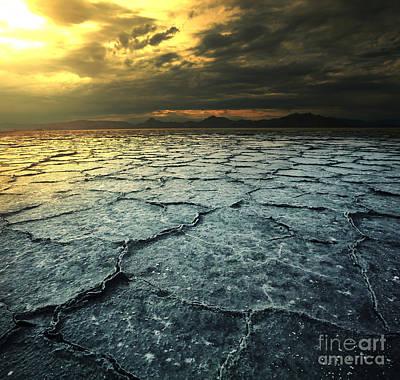 Barren Digital Art - Drought Land by Caio Caldas