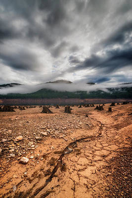 Art Print featuring the photograph Drought by Ryan Manuel