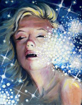 Drowning In A Sea Of Stars Original by Simon Kregar