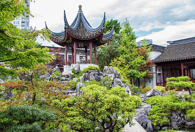 Photograph - Dr. Sun Yat Sen Classical Chinese Garden, Vancouver by Venetia Featherstone-Witty
