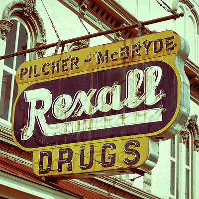 Photograph - Drug Store #1 by Stephen Stookey