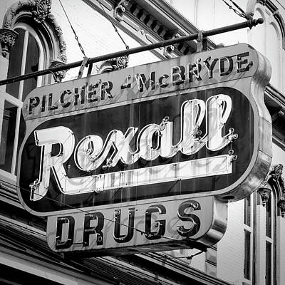 Photograph - Drug Store #2 by Stephen Stookey