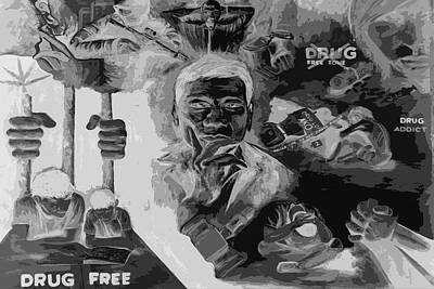 Photograph - Drugs by Jez C Self