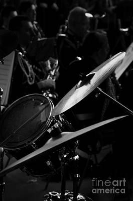 Photograph - Drum And Cymbals by Leonardo Fanini