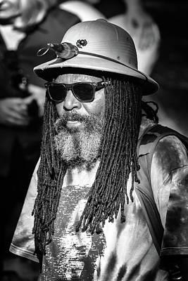 Photograph - Drum Beats In An Urban Jungle by John Haldane
