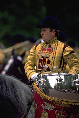 Travel Pics Royalty Free Images - Drum Horse at Trooping The Colour Royalty-Free Image by Travel Pics