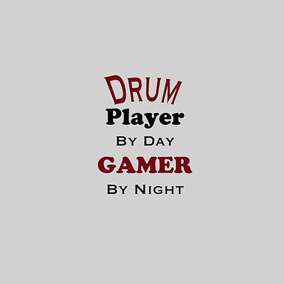Photograph - Drum Player By Day Gamer By Night 5625.02 by M K Miller