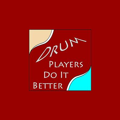 Photograph - Drum Players Do It Better 5649.02 by M K Miller