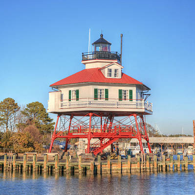 Photograph - Drum Point Lighthouse by JC Findley