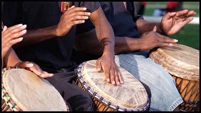 Photograph - Drum Rhythm by Al Harden