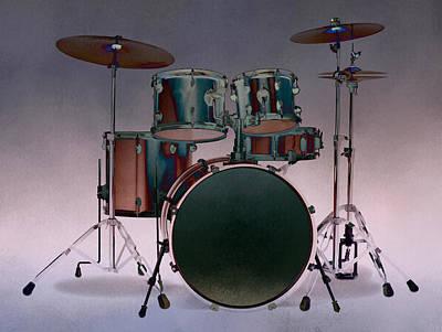 Photograph - Drum Set IIi by Athena Mckinzie