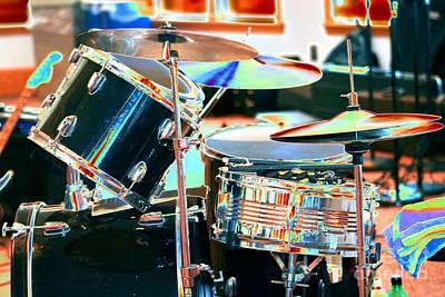 Drum Set Art Print