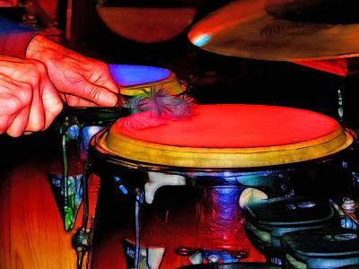 Drum Kit Digital Art - Drum by Tim Coleman