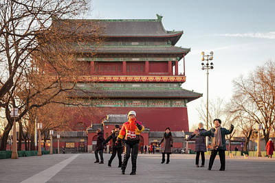 Photograph - Drum Tower  by Erika Gentry