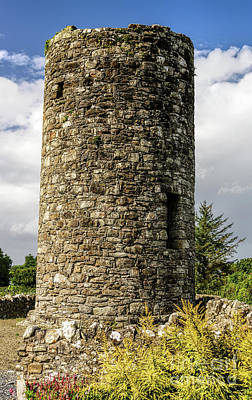 Photograph - Drumcliffe Round Tower by Elvis Vaughn