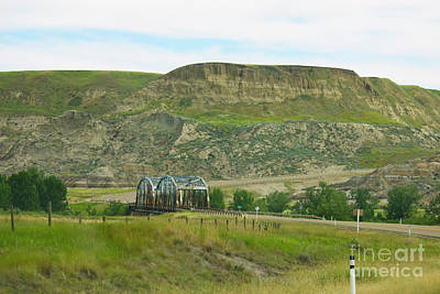 Photograph - Drumheller Bridge by Donna Munro