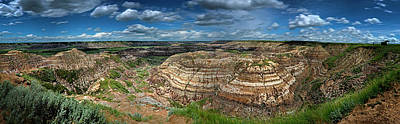 Photograph - Drumheller Panorama by Patrick Boening