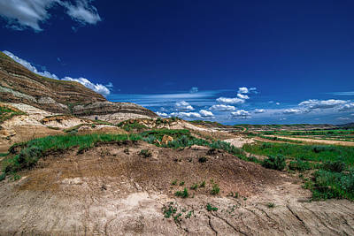 Photograph - Drumheller Side View by Patrick Boening