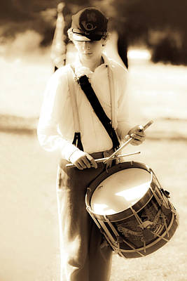 Photograph - Drummer Boy by Athena Mckinzie