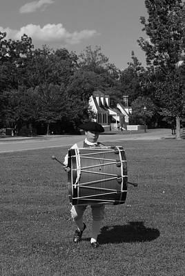 Art Print featuring the photograph Drummer Boy by Eric Liller