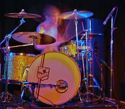 Drummer Boy Art Print by Joy Bradley