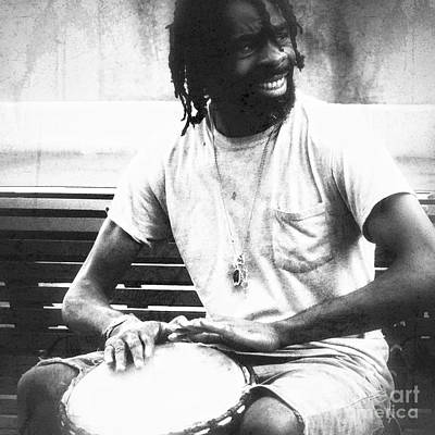 Photograph - Drummer by Paul Wilford