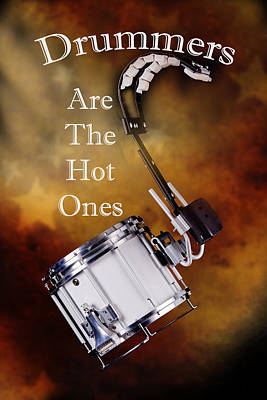 Photograph - Drummers Are The Hot Ones by M K Miller