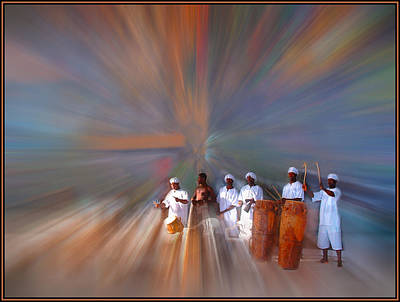 Photograph - Drummers In A Dream by Wayne King