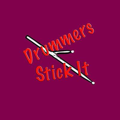 Photograph - Drummers Stick It by M K Miller
