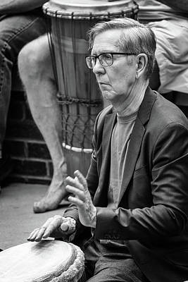 Photograph - Drumming Suits Him by John Haldane