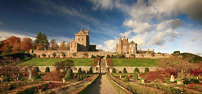 Photograph - Drummond Castle 3 by Grant Glendinning