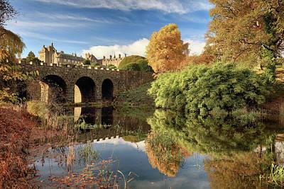 Photograph - Drummond Garden Autumn by Grant Glendinning