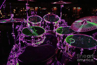 Photograph - Drums 1 by Alan Harman