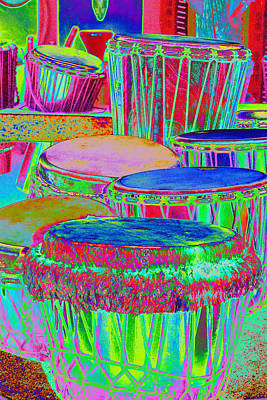 Drums Of Change Art Print by Richard Henne