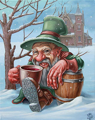 Painting - Drunkard by Victor Molev