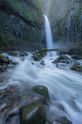 Dry Creek Photograph - Dry Creek Falls by Ryan McGinnis