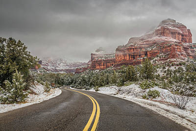 Boynton Canyon Road Art Print