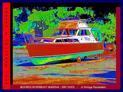 Digital Art - Dry Dock - A Vintage Pacemaker by Joseph Coulombe