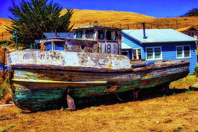 Photograph - Dry Dock Black Pearl by Garry Gay