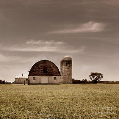 Barns Photograph - Dry Earth Crumbles Between My Fingers And I Look To The Sky For Rain by Dana DiPasquale
